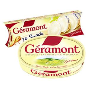 Géramont Französischer Weichkäse, 60 % Fett i. Tr., versch. Sorten,   jede 200/150-g-Packung und weitere Sorten