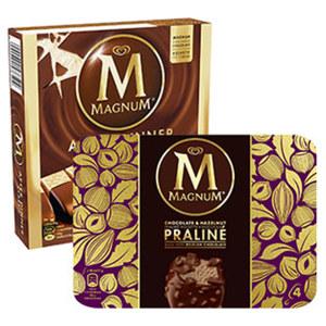 Langnese Magnum Mini Classic 6er jede 360-ml-Multipackung und weitere Sorten