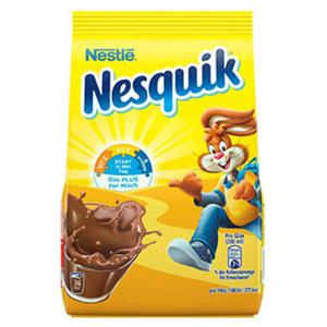 Nesquik Kakaohaltiges Getränkepulver versch. Sorten, jeder 500-g-Nachfüllbeutel