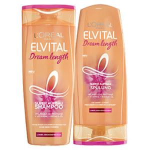 Elvital Shampoo oder Spülung versch. Sorten, jede 300/250-ml-Flasche