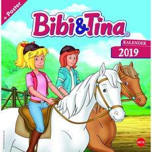 """Kalender """"Bibi und Tina"""" 2019"""