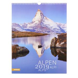 Bildkalender Alpen 2019