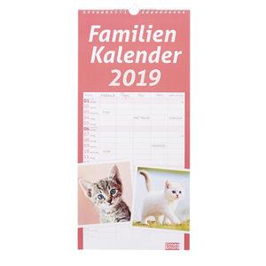 """Familienplaner """"Katzen"""" 2019"""