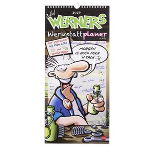 """Werkstatt-Planer """"Werner"""" 2019"""