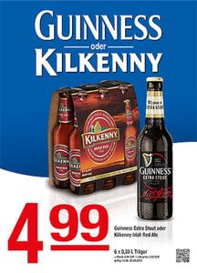 Guinness oder Kilkenny Guinness