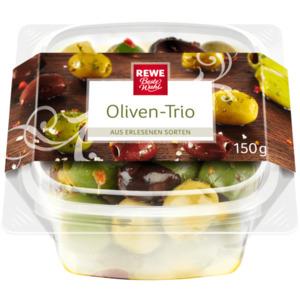 REWE Beste Wahl Oliven-Trio 150g