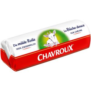 Chavroux Die milde Rolle Ziegenkäse 150g