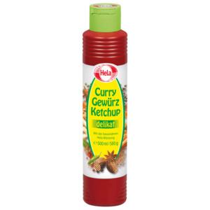 Hela Curry Gewürz Ketchup Delikat 500ml