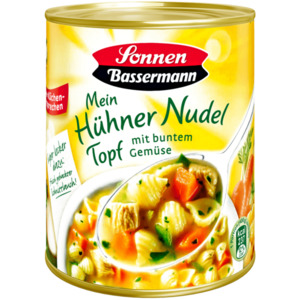 Sonnen Bassermann Mein Hühnernudeltopf mit buntem Gemüse 800g