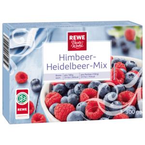REWE Beste Wahl Himbeer-Heidelbeer-Mix 300g