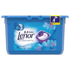 Lenor 3IN1 PODS Vollwaschmittel Weiße Wasserlilie 26.4GR - 12 WL