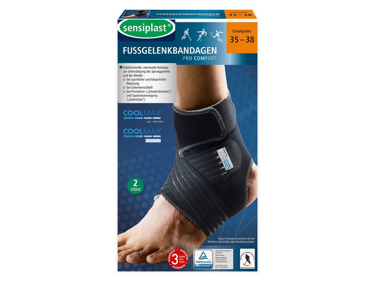 Bild 1 von SENSIPLAST® 2 Komfort Fußgelenkbandagen