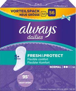 always Slipeinlage Fresh&Protect Normal Vorteilspack 56