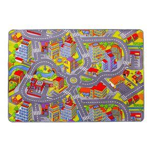 Teppich Straße - Kunstfaser - Mehrfarbig, andiamo