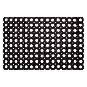 Fußmatte Rubber - Gummi - Schwarz - 60 x 80 cm, andiamo