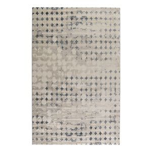 Teppich Velvet Spots - Kunstfaser - Beige / Grau - 80 x 150 cm, Esprit Home