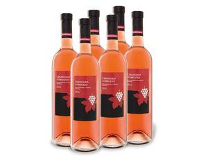 6 x 0,75-l-Flasche Cerasuolo d'Abruzzo DOP, Roséwein