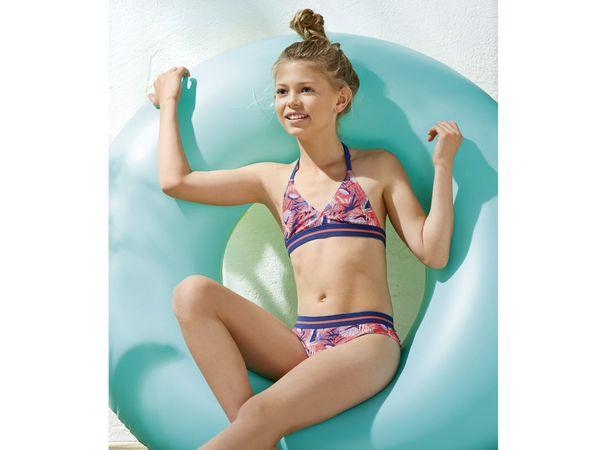 Pepperts Kinder Mädchen Bikini Badeanzug Von Lidl Ansehen