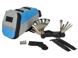 FISCHER  Satteltasche mit Fahrrad-Werkzeug 24tlg