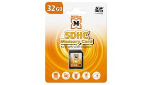 Müller SDHC Card 32GB Cl.4