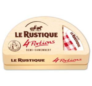 LE RUSTIQUE Camembert-Portionen oder Petit Camembert