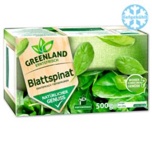GREENLAND Blattspinat