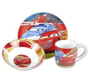 CARS / FROZEN / PUMMEL Kinder-Frühstücks-Set