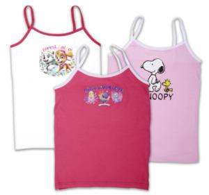 HATCHIMALS / PEANUTS / PAW PATROL Mädchen-Unterhemden