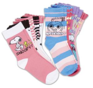 HATCHIMALS / PEANUTS / PAW PATROL Mädchen-Socken