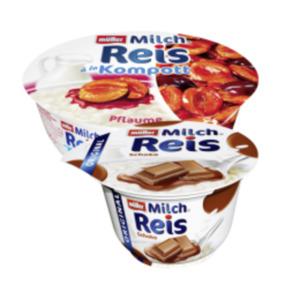 Müller Milch Reis oder Milch Reis à la Kompott