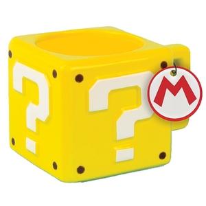Super Mario - 3D-Becher Fragezeichenblock, 300 ml