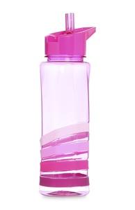 Pinke Tritan-Wasserflasche