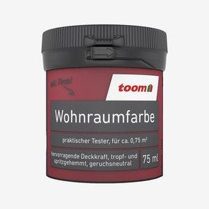 toomEigenmarken -              Wohnraumfarbe matt mohnrot 75 ml