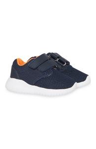 Marineblaue Sneaker (kleine Jungen)