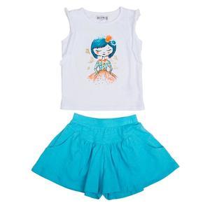 Set Top & Shorts für Mädchen