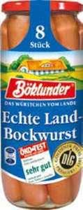 Böklunder Bockwurst