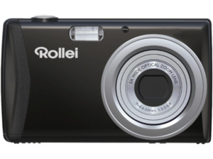 ROLLEI Compactline 800 Digitalkamera, 20 Megapixel, 5x opt. Zoom, Schwarz