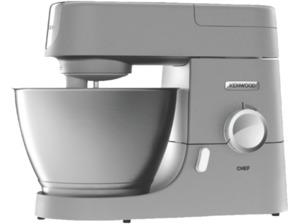 KENWOOD KVC 3150 S Chef, Küchenmaschine, Rührschüssel-Kapazität: 4.6 Liter, 1000 Watt, Silber
