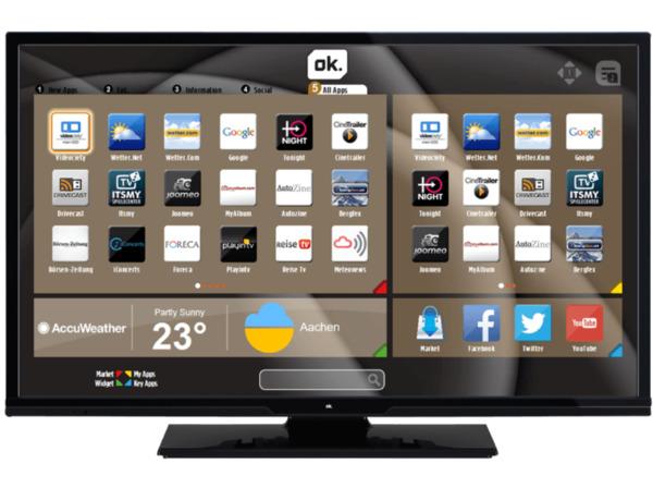 Ok Odl 32652f Tib 81 Cm 32 Zoll Full Hd Led Tv 600 Cmp Dvb