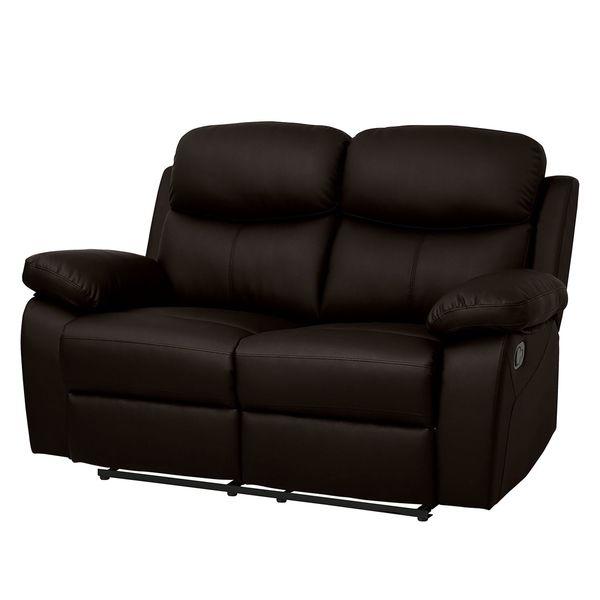 Sofa Tetchill 2 Sitzer Mit Relaxfunktion Kunstleder