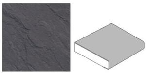 GetaLit Elements Küchenarbeitsplatte ,  Schiefer, 4,1 x 0,6 m, 39 mm