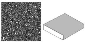 GetaLit Elements Küchenarbeitsplatte ,  Stein-Optik, 4,1 x 0,6 m, 39 mm