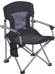 TrendLine Campingstuhl Comfort ,  Alugestell, breite Sitzfläche