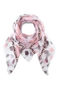 Trend-Schal von Belmondo in rosa für Damen
