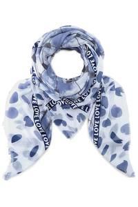 Trend-Schal von Belmondo in blau für Damen