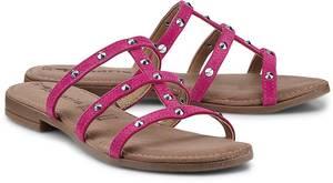 Trend-Pantolette von Tamaris in pink für Damen. Gr. 37,38,39,40,41,42