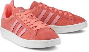 Sneaker Campus von Adidas Originals in koralle für Damen. Gr. 36 2/3,37 1/3,38,38 2/3,41 1/3,42