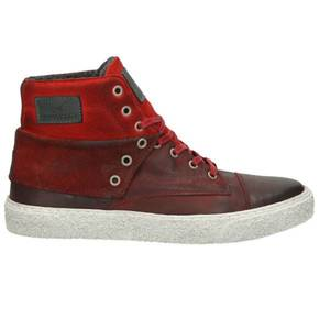 Herren High Top Sneaker, rot