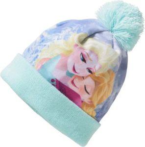 Disney Die Eiskönigin Bommelmütze Gr. 51 Mädchen Kleinkinder