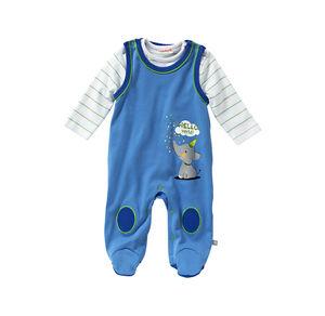 Liegelind Baby-Jungen-Strampler-Set, 2-teilig